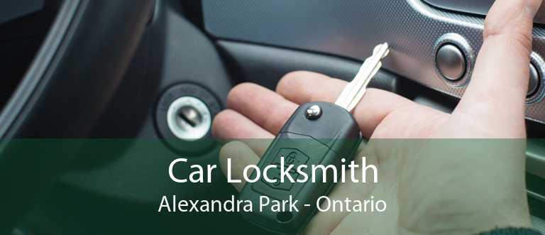 Car Locksmith Alexandra Park - Ontario