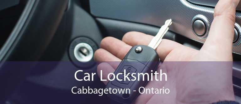 Car Locksmith Cabbagetown - Ontario