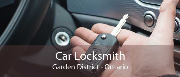 Car Locksmith Garden District - Ontario