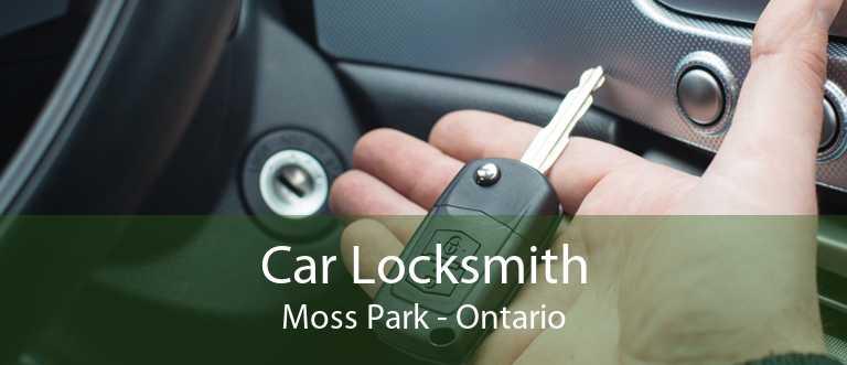 Car Locksmith Moss Park - Ontario