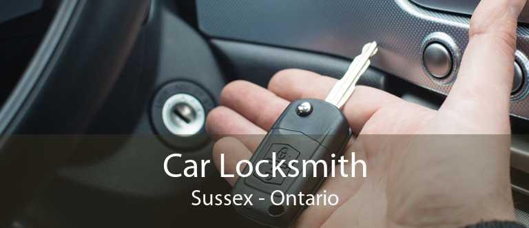 Car Locksmith Sussex - Ontario