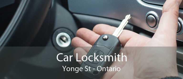 Car Locksmith Yonge St - Ontario
