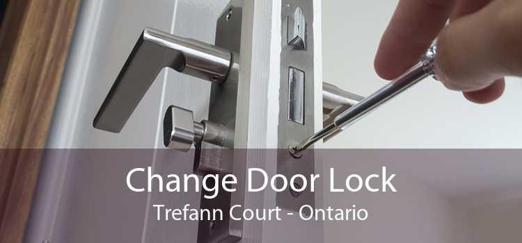 Change Door Lock Trefann Court - Ontario