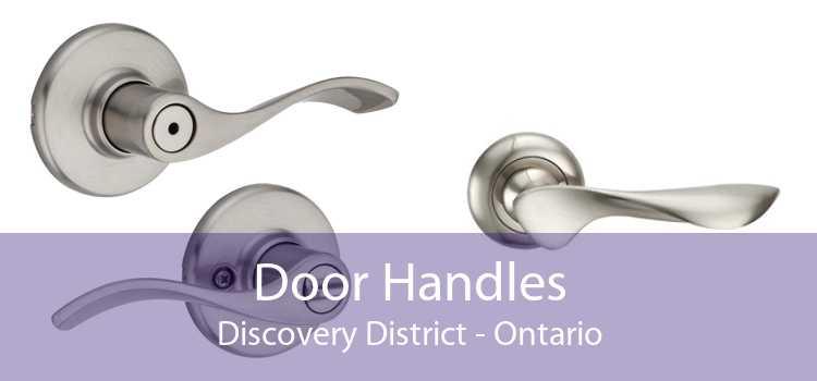Door Handles Discovery District - Ontario