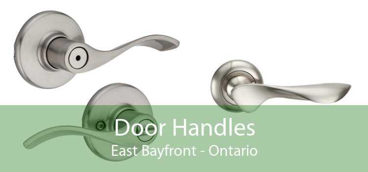 Door Handles East Bayfront - Ontario