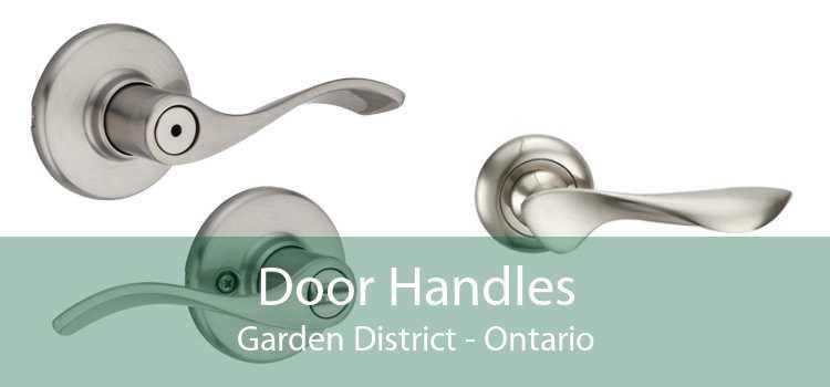 Door Handles Garden District - Ontario