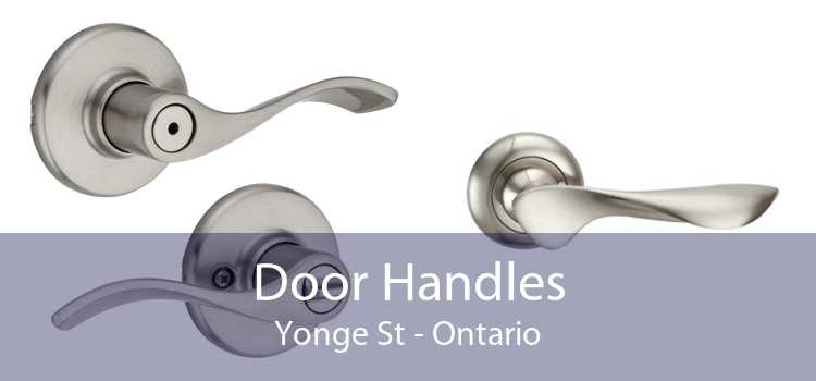 Door Handles Yonge St - Ontario