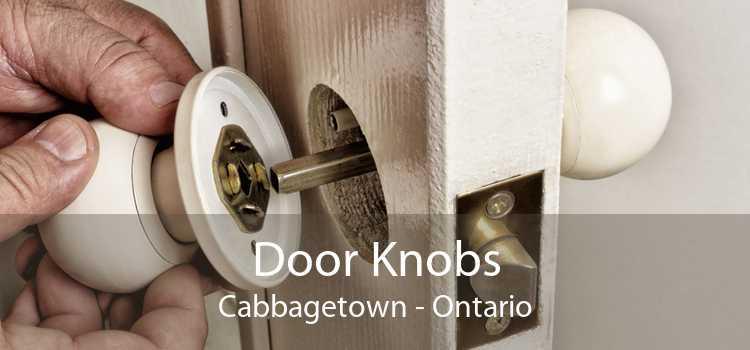 Door Knobs Cabbagetown - Ontario