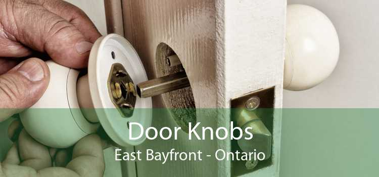 Door Knobs East Bayfront - Ontario
