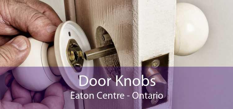 Door Knobs Eaton Centre - Ontario