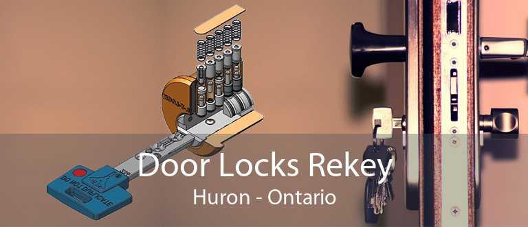 Door Locks Rekey Huron - Ontario