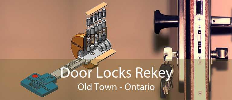 Door Locks Rekey Old Town - Ontario