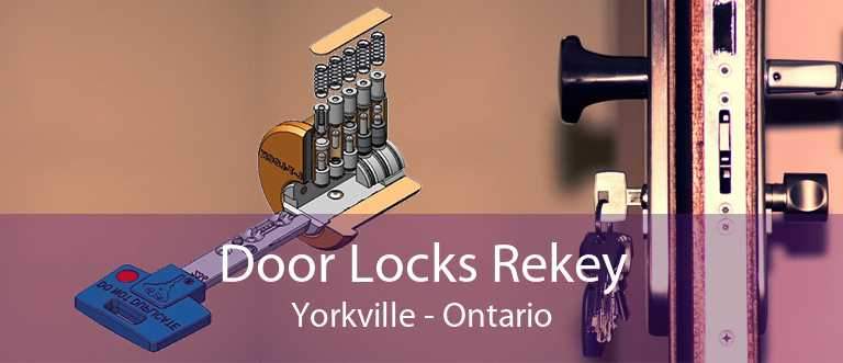 Door Locks Rekey Yorkville - Ontario