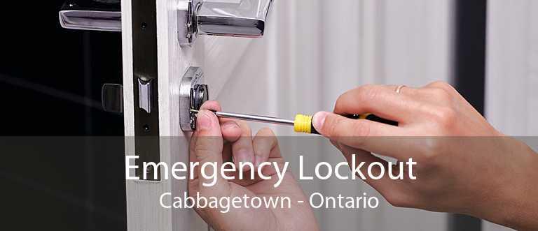 Emergency Lockout Cabbagetown - Ontario