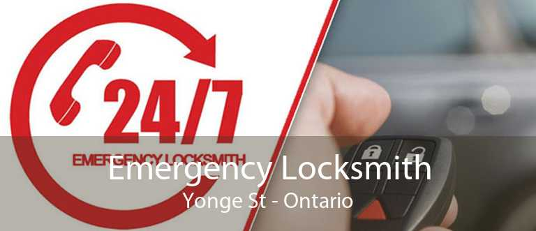 Emergency Locksmith Yonge St - Ontario