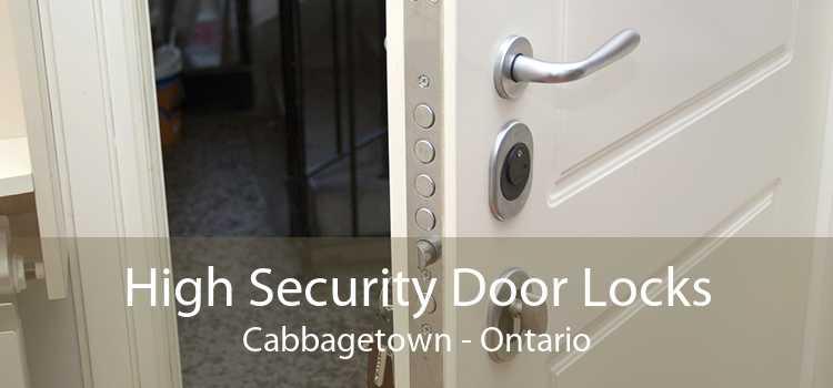 High Security Door Locks Cabbagetown - Ontario