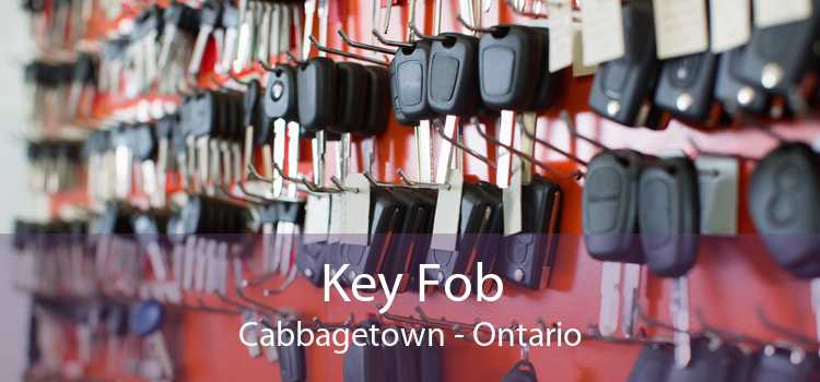 Key Fob Cabbagetown - Ontario