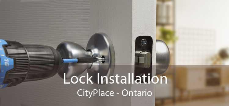 Lock Installation CityPlace - Ontario