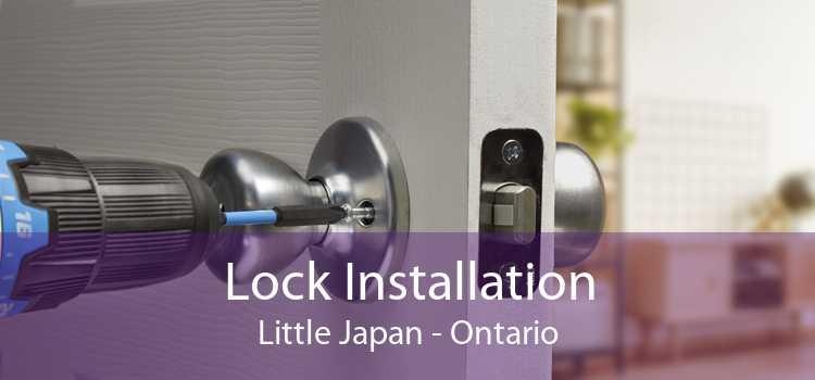 Lock Installation Little Japan - Ontario