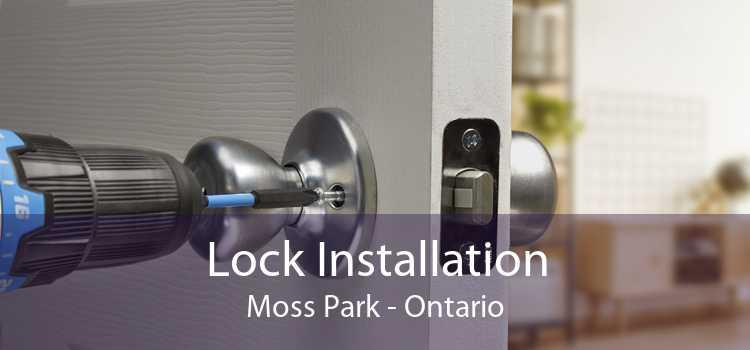 Lock Installation Moss Park - Ontario