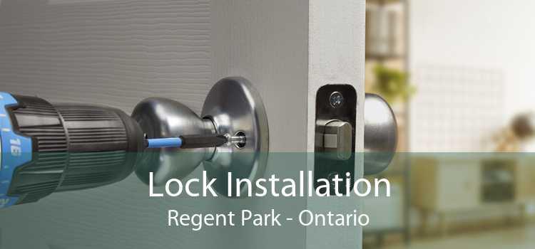 Lock Installation Regent Park - Ontario