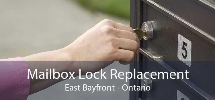 Mailbox Lock Replacement East Bayfront - Ontario