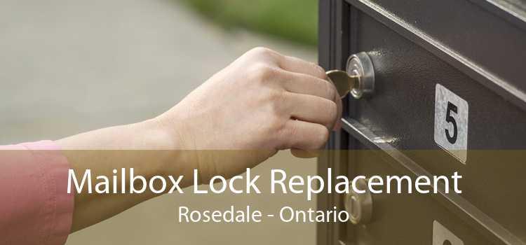 Mailbox Lock Replacement Rosedale - Ontario