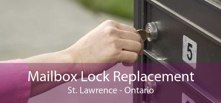 Mailbox Lock Replacement St. Lawrence - Ontario
