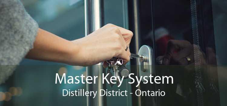 Master Key System Distillery District - Ontario
