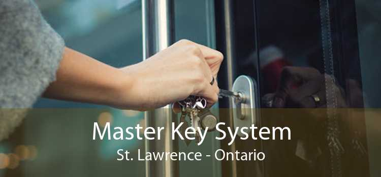 Master Key System St. Lawrence - Ontario