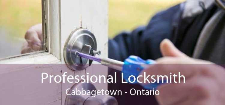 Professional Locksmith Cabbagetown - Ontario