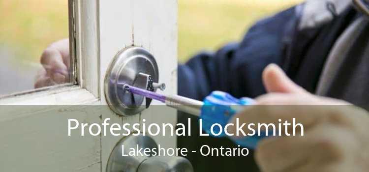 Professional Locksmith Lakeshore - Ontario