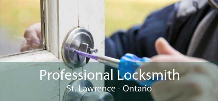 Professional Locksmith St. Lawrence - Ontario