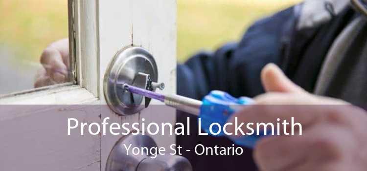 Professional Locksmith Yonge St - Ontario