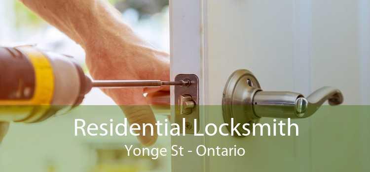 Residential Locksmith Yonge St - Ontario
