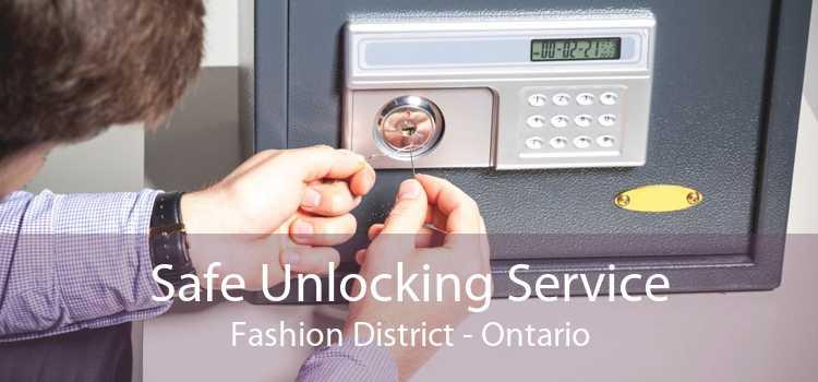 Safe Unlocking Service Fashion District - Ontario