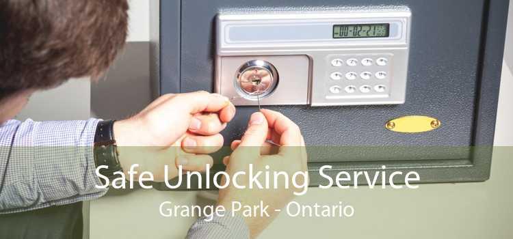 Safe Unlocking Service Grange Park - Ontario